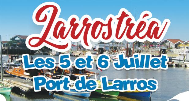 affiche des fêtes de Larrostréa 2019