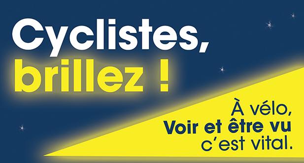 Logo Cyclistes brillez