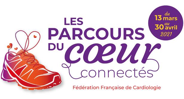 Logo Parcours du coeur connectés