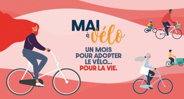 Visuel Mai à vélo