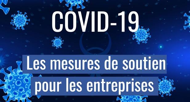 Logo mesures économie Covid 19