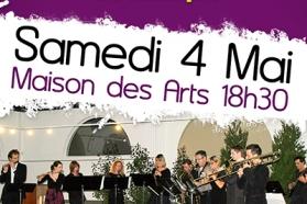 Affiche concert des professeurs du Conservatoire