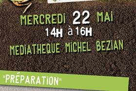 Affiche Grainotheque 22 mai