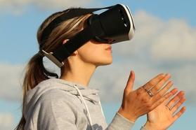 Affiche réalité virtuelle