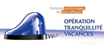 Logo opération tranquilité vacances