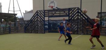Match de foot entre jeunes