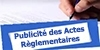 Recueil des actes administratifs