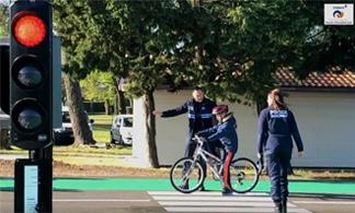 Image Piste de sécurité routière  ALSH La Hume