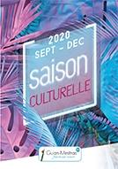 Couve Plaquette culturelle - Septembre à Décembre 2020